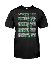 Pi Day Shirt Classic T-Shirt front