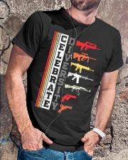 Celebrate Diversity Different Gun T-Shirt Classic T-Shirt lifestyle-mens-crewneck-front-4