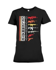 Celebrate Diversity Different Gun T-Shirt Premium Fit Ladies Tee thumbnail