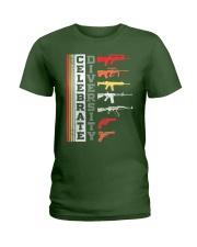 Celebrate Diversity Different Gun T-Shirt Ladies T-Shirt thumbnail