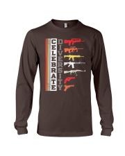 Celebrate Diversity Different Gun T-Shirt Long Sleeve Tee thumbnail