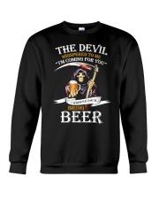 I Whisper Back Bring Beer Tshirt Crewneck Sweatshirt thumbnail