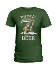 I Whisper Back Bring Beer Tshirt Ladies T-Shirt thumbnail