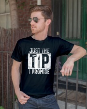 Just The Tip I Promise Gun T-Shirt Classic T-Shirt lifestyle-mens-crewneck-front-2