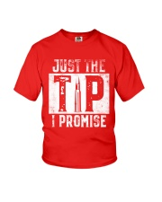 Just The Tip I Promise Gun T-Shirt Youth T-Shirt thumbnail