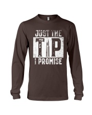 Just The Tip I Promise Gun T-Shirt Long Sleeve Tee thumbnail