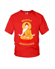 Heavily Meditated - Yoga Meditation Buddha Zen Youth T-Shirt thumbnail