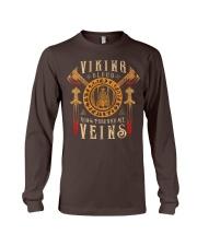 Viking Warrior T-Shirt Long Sleeve Tee thumbnail