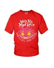 Cheshire Cat - We're All Mad Here Youth T-Shirt thumbnail