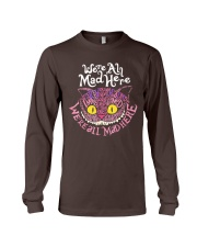Cheshire Cat - We're All Mad Here Long Sleeve Tee thumbnail