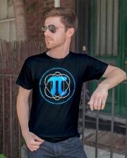 T Shirt Atom PI Math Science Classic T-Shirt lifestyle-mens-crewneck-front-2