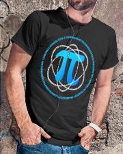 T Shirt Atom PI Math Science Classic T-Shirt lifestyle-mens-crewneck-front-4