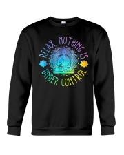Relax Buddha Design Tshirt Crewneck Sweatshirt thumbnail