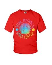 Relax Buddha Design Tshirt Youth T-Shirt thumbnail