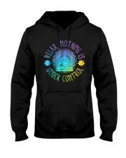 Relax Buddha Design Tshirt Hooded Sweatshirt thumbnail