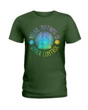 Relax Buddha Design Tshirt Ladies T-Shirt thumbnail