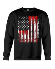 Patriotic Archery Shirt Bow Hunting Crewneck Sweatshirt thumbnail