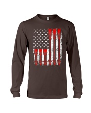 Patriotic Archery Shirt Bow Hunting Long Sleeve Tee thumbnail