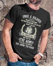 Once A Soldier Always A Soldier Classic T-Shirt lifestyle-mens-crewneck-front-4