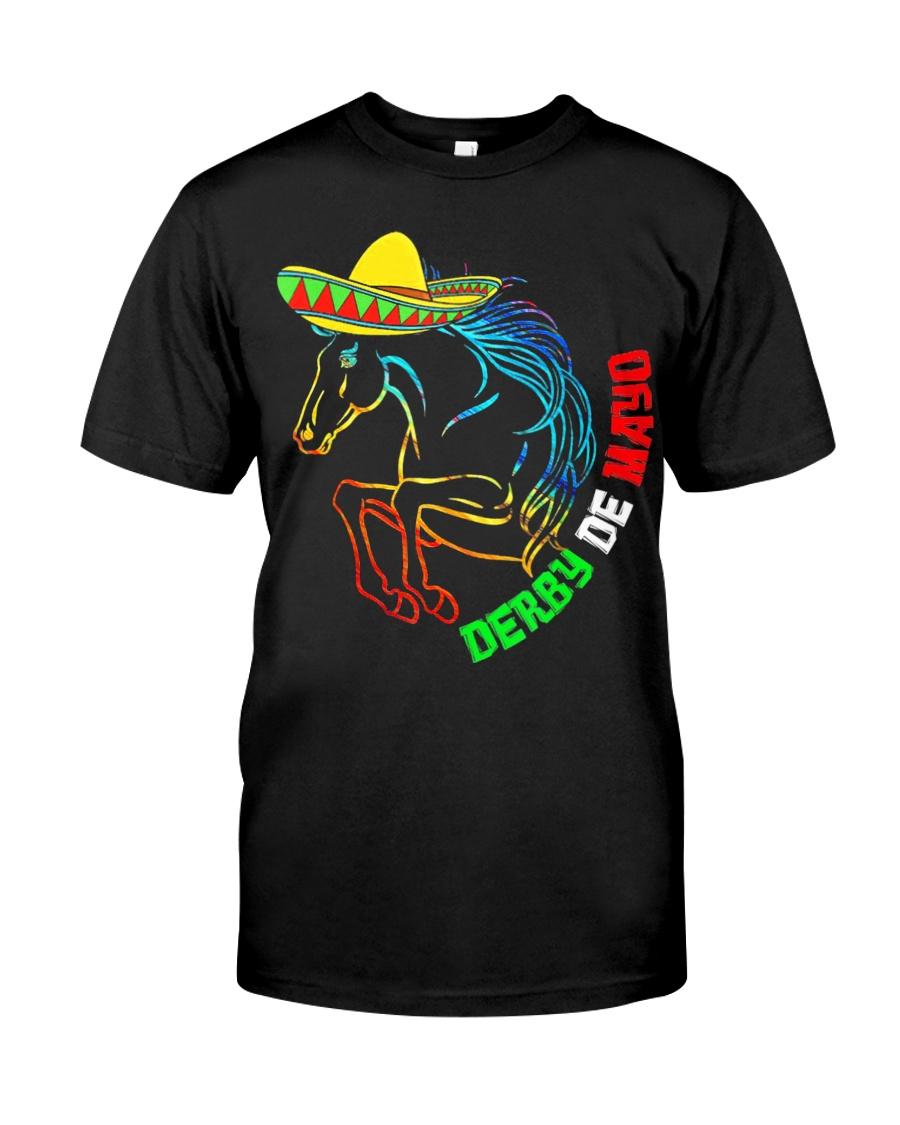 Derby De Mayo Horse Race Sombrero Mexican T-Shirt Classic T-Shirt