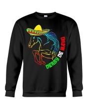 Derby De Mayo Horse Race Sombrero Mexican T-Shirt Crewneck Sweatshirt thumbnail