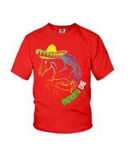 Derby De Mayo Horse Race Sombrero Mexican T-Shirt Youth T-Shirt thumbnail