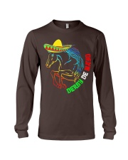Derby De Mayo Horse Race Sombrero Mexican T-Shirt Long Sleeve Tee thumbnail