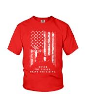 Veteran Shirt Honor the Fallen Thank the Living Youth T-Shirt thumbnail