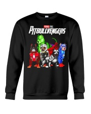 Pitbullvengers T-shirt Funny Dog Crewneck Sweatshirt tile