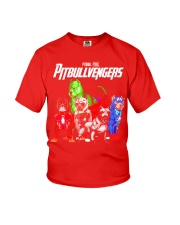 Pitbullvengers T-shirt Funny Dog Youth T-Shirt thumbnail