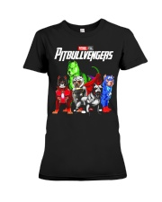 Pitbullvengers T-shirt Funny Dog Premium Fit Ladies Tee thumbnail