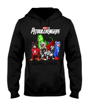 Pitbullvengers T-shirt Funny Dog Hooded Sweatshirt thumbnail