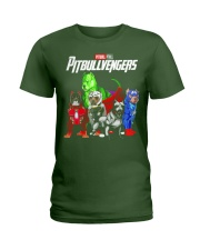 Pitbullvengers T-shirt Funny Dog Ladies T-Shirt thumbnail