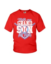 That's My Grandson Out There Baseball  Youth T-Shirt thumbnail