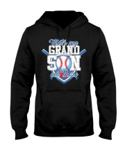 That's My Grandson Out There Baseball  Hooded Sweatshirt thumbnail