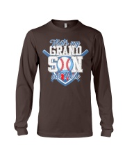 That's My Grandson Out There Baseball  Long Sleeve Tee thumbnail