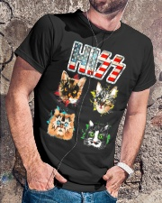 Funny Hiss Funny Cats cute cat lover shirt  Classic T-Shirt lifestyle-mens-crewneck-front-4