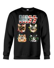Funny Hiss Funny Cats cute cat lover shirt  Crewneck Sweatshirt thumbnail