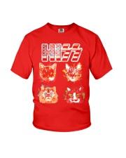 Funny Hiss Funny Cats cute cat lover shirt  Youth T-Shirt thumbnail