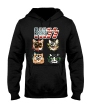 Funny Hiss Funny Cats cute cat lover shirt  Hooded Sweatshirt thumbnail