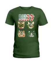 Funny Hiss Funny Cats cute cat lover shirt  Ladies T-Shirt thumbnail