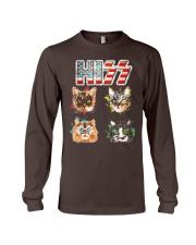 Funny Hiss Funny Cats cute cat lover shirt  Long Sleeve Tee thumbnail