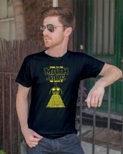 Come To The Math Side We Have Pi Classic T-Shirt lifestyle-mens-crewneck-front-2