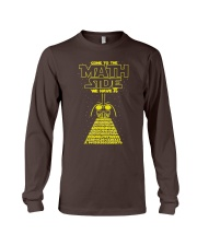 Come To The Math Side We Have Pi Long Sleeve Tee thumbnail