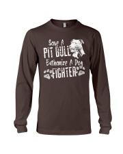 Save A Pitbull Euthanize A Dog Fighter Pit Bull Long Sleeve Tee thumbnail