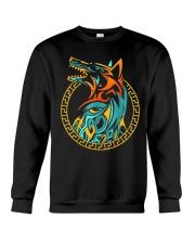 Tribal Fenrir Wolf Shirt Norse Viking T Shirt Crewneck Sweatshirt thumbnail