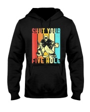 Shut Your Five Hole Shirt- Vintage Ice Hockey Hooded Sweatshirt thumbnail