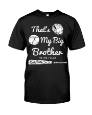 Baseball T Shirt For Kids Big Brother Classic T-Shirt front