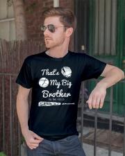 Baseball T Shirt For Kids Big Brother Classic T-Shirt lifestyle-mens-crewneck-front-2