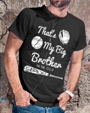 Baseball T Shirt For Kids Big Brother Classic T-Shirt lifestyle-mens-crewneck-front-4